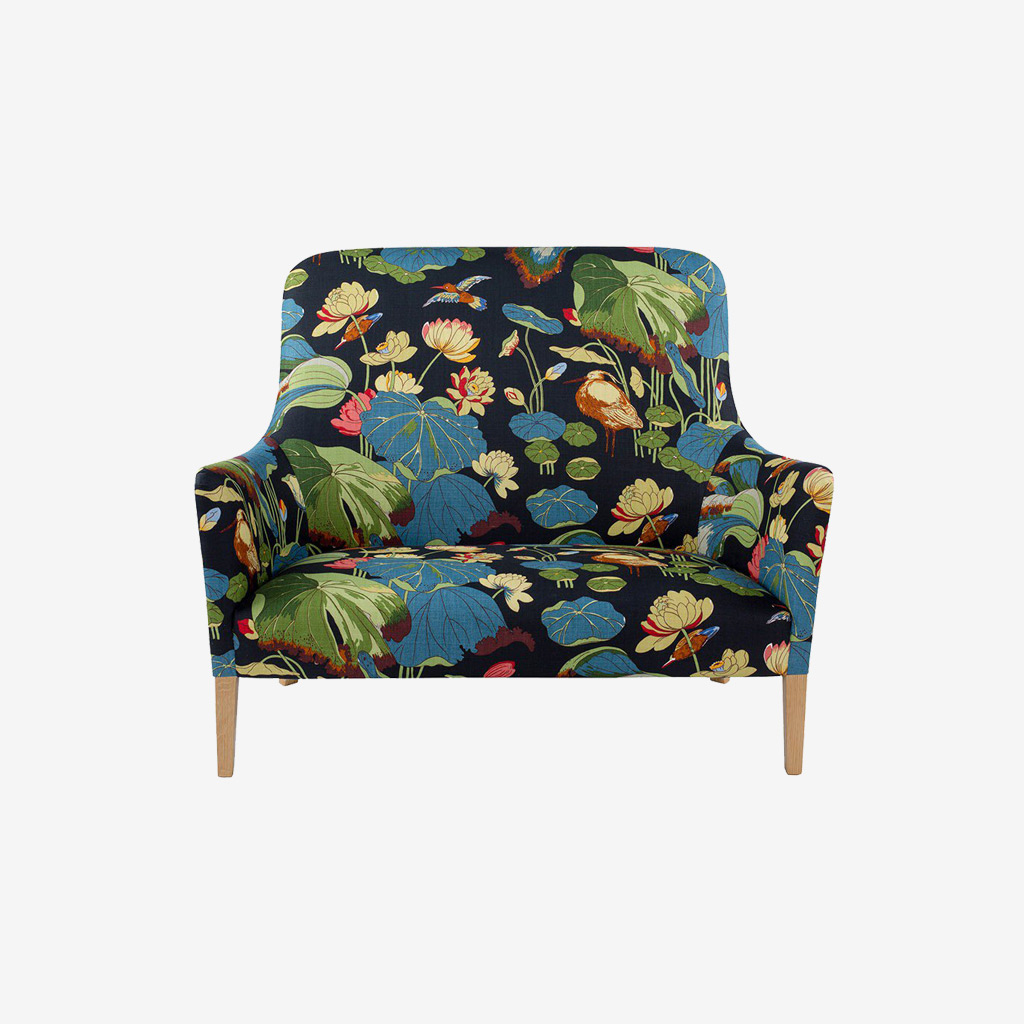 Evok Albani Fabric Living Room Chair