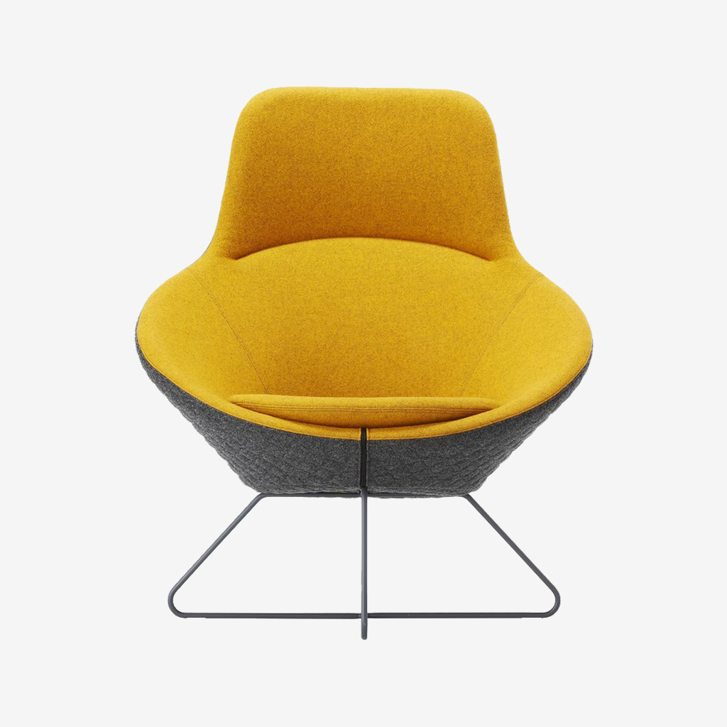 Nero Fabric Living Room Chair