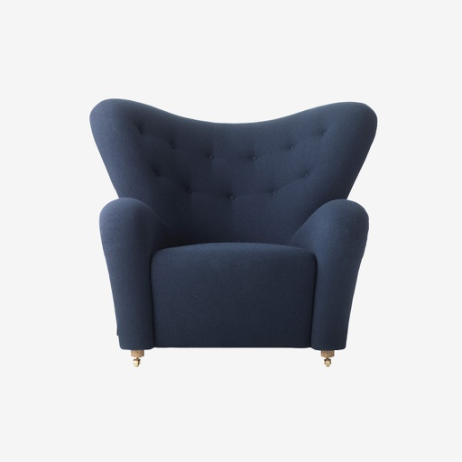 [11151] Wood Pecker Leatherette Chair